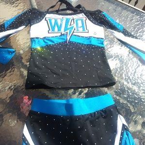 All-star cheer uniform